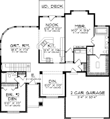 window in plan great room with curved window wall 89374ah architectural designs