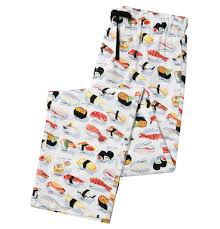 s white sushi poplin pajama pant the cat s pajamas