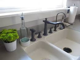 how to clean a white kitchen sink chrison bellina