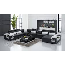 canapé luxe design le canapé en cuir de luxe est d une très grande taille
