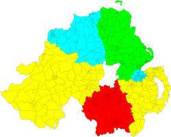 Northern Ireland Map Northern Ireland The Random Ramblings Of Andrewg