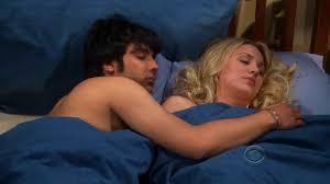 Sleep Number Bed Actress The Big Bang Theory Season Finale Rajesh And Penny Sleep