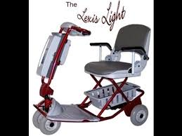 the lexis light foldable mobility scooter lexis light folding mobility scooter youtube