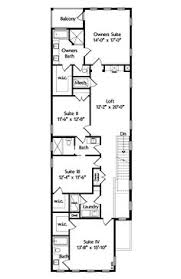 narrow floor plans floor plan for 9920 narrow lot house plans small lot house