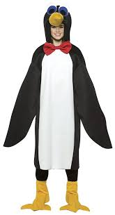 Halloween Costumes Young Girls Amazon Penguin Red Bow Tie Teen Kids Size 13 16 Costume