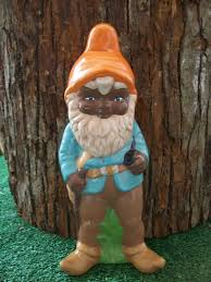 painted ceramic american garden gnome lawn garden