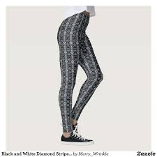 pattern leggings pinterest black and white diamond striped pattern yoga tights leggings