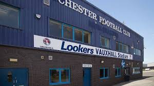 vauxhall lookers saddlers to play chester in july pre season friendly news