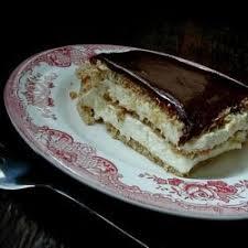 chocolate eclair cake recipe details calories nutrition