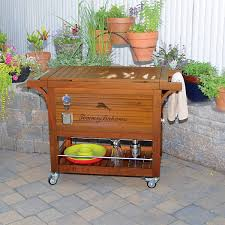 Decorative Coolers For The Patio by Wood Cooler Ebay
