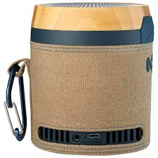 house of marley chant bluetooth wireless speaker navy portable