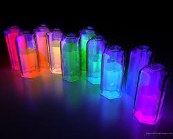 and glow water and glow sticks in a jar this would be so cool for a