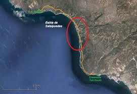 mexico toll road map toll road fault expat in baja mexico