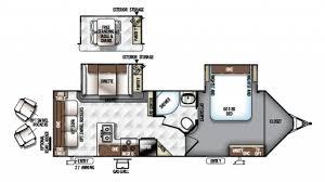 Rockwood Travel Trailer Floor Plans Forest River Rockwood Ultra V 2811vs Travel Trailer Floor Plan