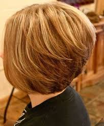 bob hairstyle with stacked back with layers bob haircuts back view layered bobs layered bobs and