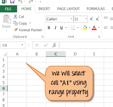 excel vba range object
