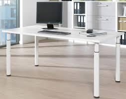 Weisser Schreibtisch Welle Planeo Schreibtisch Höhenverstellbar 60 Oder 80 Cm Tief In 6