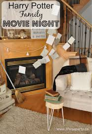 harry potter family movie night life is a party