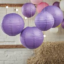 purple decorations purple paper lantern decorations boho