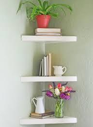 kitchen corner shelves ideas best 25 floating corner shelves ideas on corner