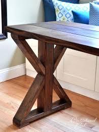 how to make a dinner table farmhouse table legs diy kinsleymeeting com