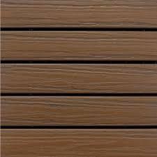 aura elite 1 ft x 1 ft premium polymer deck tile in walnut 10