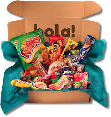 mexican gift basket mexican candy and snacks subscription box mexitreat