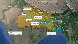 India River Map by India U0027s Dying Mother Bbc News