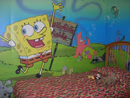 spongebob wall decals tree spongebob wall decals for kids rooms image of spongebob wall decals and stencils