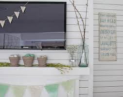 Easter Mantel Decorating Ideas by Spring Mantel Decorating Ideas