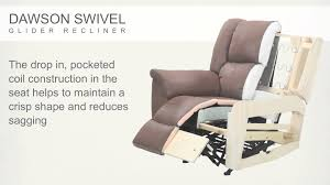Oversized Swivel Rocker Recliner Dawson Swivel Glider Recliner Youtube