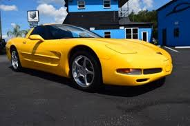 used corvettes florida yellow chevrolet corvette in florida for sale used cars on