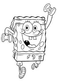 free coloring pages lot spongebob coloring pages
