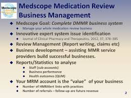 Clinical Pharmacist Resume Medscope Developing An Hmr System For Your Gp Practices Ppt