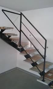 escalier garde corps verre photo de garde corps metallique