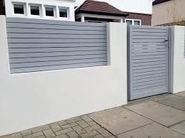 front wall fence designs decorative bricks for garden walls ideas