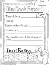 18 best book report templates images on pinterest book report