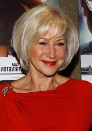 layered bob hairstyles for 50s helen mirren short layered bob hairstyle for women age over 60