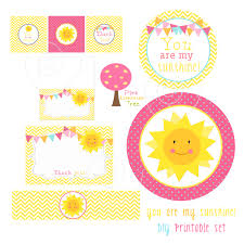 You Are My Sunshine Decorations You Are My Sunshine Decorations Baby Shower Birthday Party