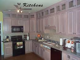 simple design kitchen with creme maple glazed kitchen cabinets