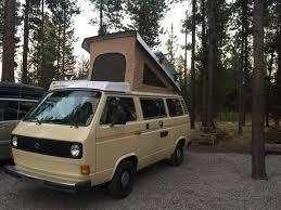 volkswagen westfalia 2016 1980 vw vanagon westfalia camper for sale in sunriver or