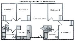 Multi Family Building Plans by Pictures On Multi Family Plans Four Units Free Home Designs