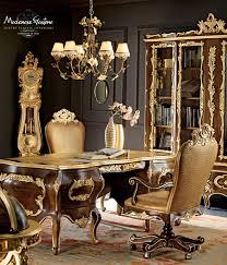Classic Desk Accessories by Wooden Desk Classic Villa Venezia Modenese Gastone Luxury