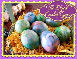 tie dyed easter eggs modern christian homemaker