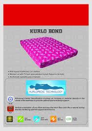 Buy Mattress Online India Amazon Kurl On Kurlo Bond 5 Inch Single Size Coir Mattress 72x36x5