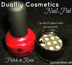 a polish problem duality cosmetics nail pak product review