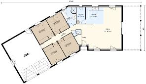 plan de maison en v plain pied 4 chambres plan de maison en v plain pied 4 chambres avie home
