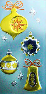 401 best cards ornaments images on retro