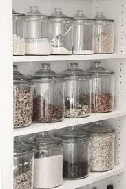 glass kitchen canisters best 25 glass storage jars ideas on bathroom jars
