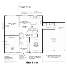 Georgian Floor Plan by Penn Land Farm The Nantucket Home Design